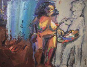 Der Maler und sein Modell Hannes Münz Ausstellung