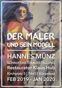 Maler Hannes Münz Ausstellung Künzelsau