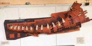 Wal Unterkiefer Kunstausstellung Martin Wolfram